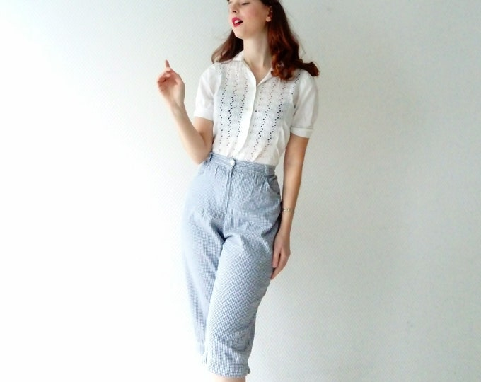 Cropped Style 50's / 50's Style Cropped Trousers