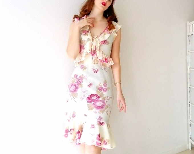 Dress romantic Floral /Romantic Floral Dress