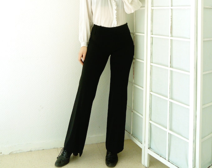 Pants Bootcut Style 70's 70's Style Loose pants