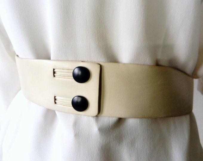 70s/70s back buttonhole belt