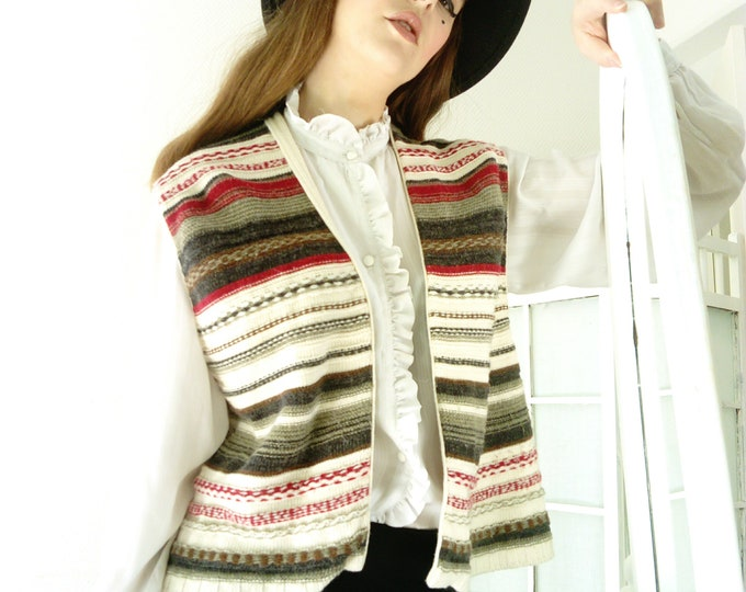 Gilet Mexicain 70's /70's Mexican Cardigan
