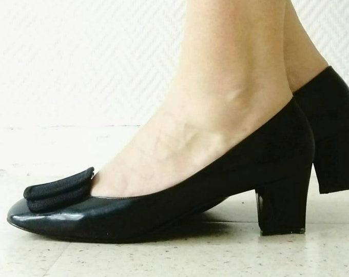 BALLY style 60 heel ballerina/60 's style Bally heels ballerina
