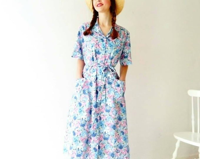 Floral dress Style 40's 40's Style Floral Dress