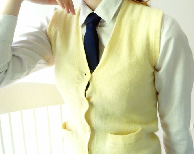 The 70/70's cardigan vest