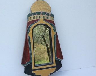 64 x 32 cm Heraldry with mirror frame