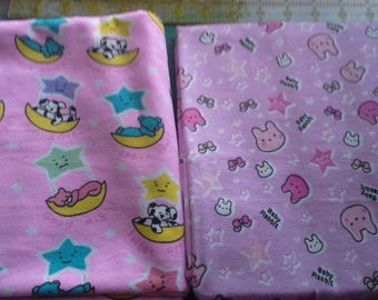 """NEW handmade extra large flannel receiving blankets 36""""x45"""""""