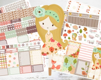 """Deluxe Kit // Weekly Sticker Kit // For Use With Erin Condren or Happy Planner // """"Autumn Bliss"""""""