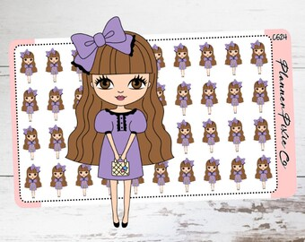 Planner Girl Stickers,  Dress Up, Night Out, Date Night CG24
