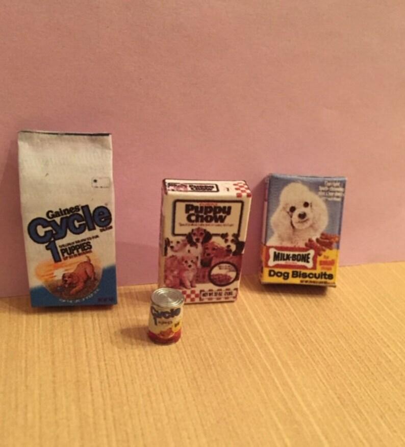 Fantastic Dollhouse Miniature Dog Food Assortment Beutiful Home Inspiration Truamahrainfo