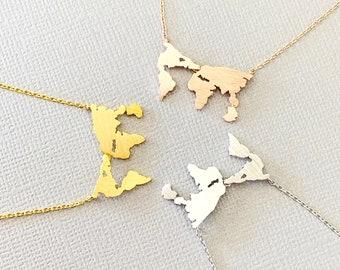 Beijing Map Scrabble Tile Pendant Jewelry Necklace Charm World Maps Travels
