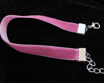 velvet ribbon bracelet, velvet cuffs, ribbon bracelet,