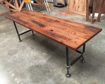 Table basse en bois grange table basse en bois de etsy