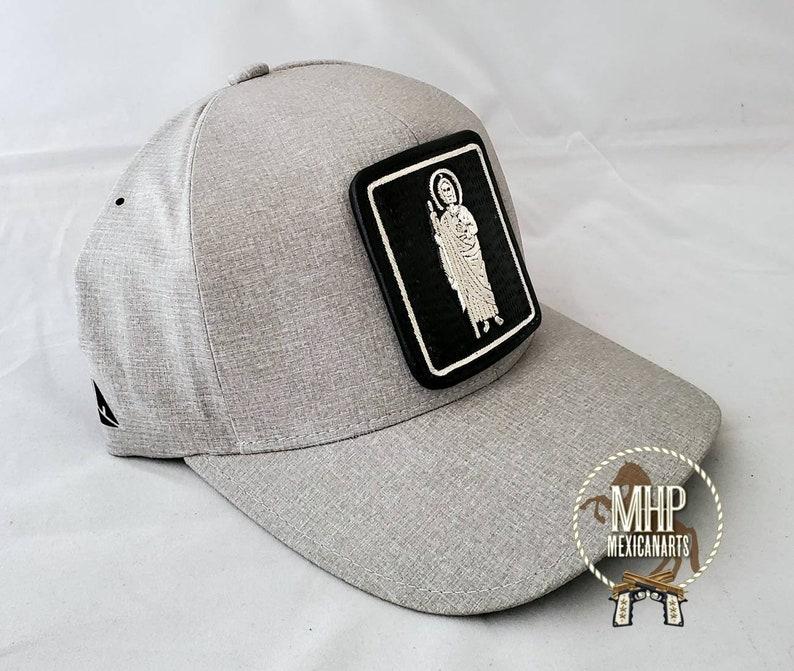 San judas mexican Hat cachucha gorra MEXICO  piteado con hilo de plata Embroidery 100/% artesanal