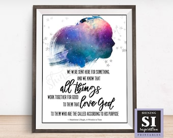 A Wrinkle In Time Quote Power Of Song Melody Classroom Etsy