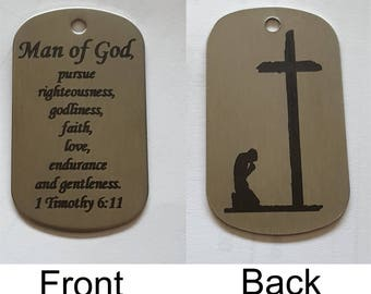 Dog Tags! Stainless Steel