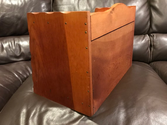 Phenomenal Vintage Bread Box Wooden Colonial Styled With Pull Out Cutting Board Wooden Box Decor Repurposed Household Storage Box Letter Box Used Caraccident5 Cool Chair Designs And Ideas Caraccident5Info