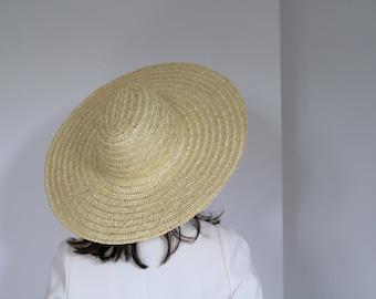 festival Chapeau de paille pour femme Just Married Taille unique cr/ème style quotidien Tendance