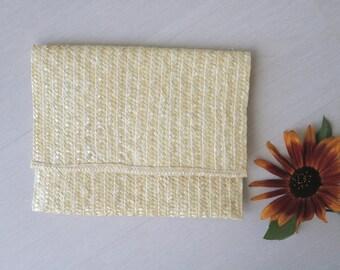 Straw clutch, handmade, summer handbag, Halmkorg, Strohkorb, bolsa de mano de paja, pochette en paille, Stroh-Clutch, halmkoppling väska.