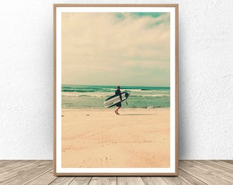 Surfing Photo, Surf Decor, Surfing Wall Art, Beach House Decor, Surf Photography, Ocean Art, Coastal Wall Decor, Beach Wall Art, Coastal Art