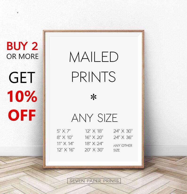 Any Print, Any Size, Printing Service, Mailed Print, Custom Printing, Print  and Mail, Print and Ship, Wall Art Print, 11x14, 16x20, 24x36