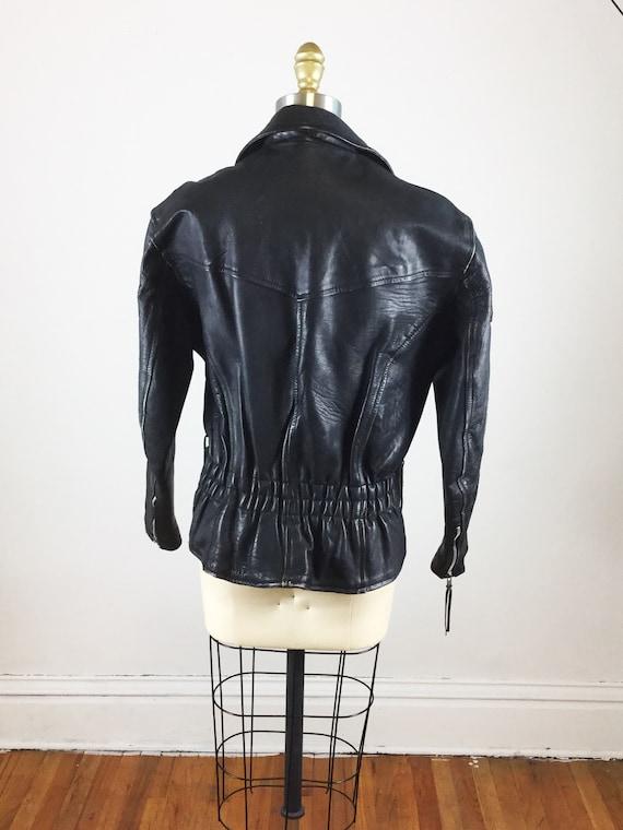 1980s motorcycle jacket // Laughlin river run mot… - image 7