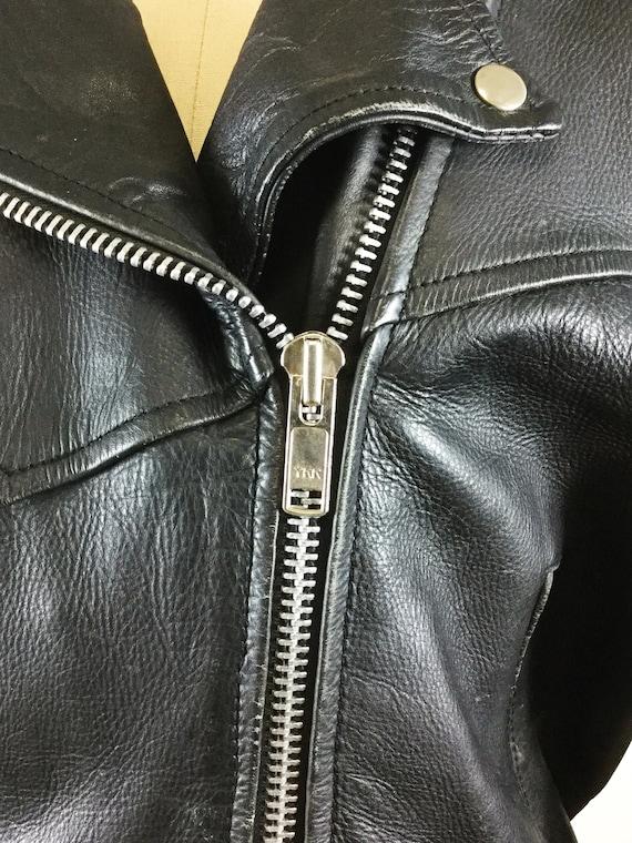 1980s motorcycle jacket // Laughlin river run mot… - image 4