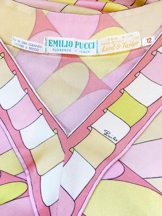 1960s Emilio Pucci Dress - Vintage Pucci Dress - … - image 10