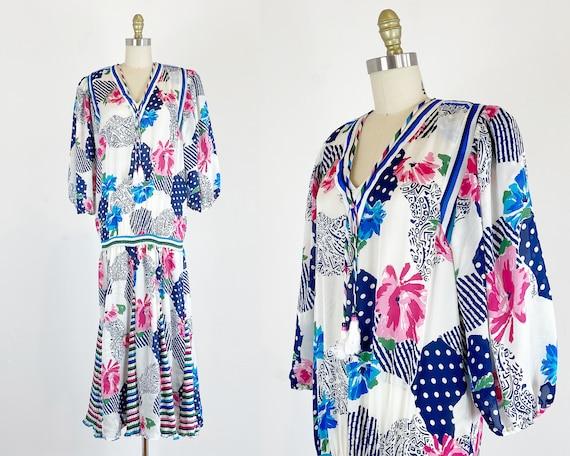 Vintage Diane Freis Dress - 1980s Diane Freis Dres