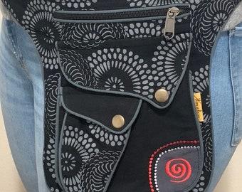 Unique design multipurpose waist pack Bag, Festival Belt Bag, Hip Bag | FAIR TRADE | Handmade with Love.