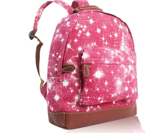Personalised Red Galaxy Backpack - rucksack 015a09db8c4e1
