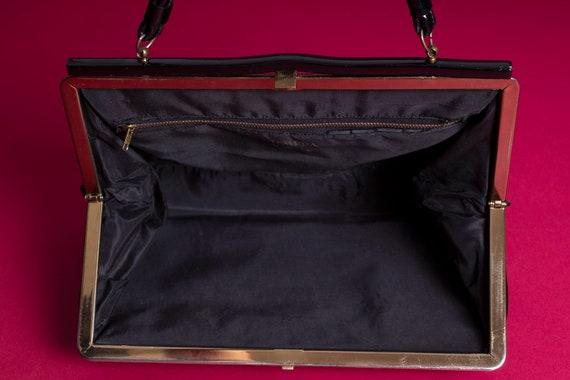 Vintage Tempra // Black Patent Leather // Kelly B… - image 7