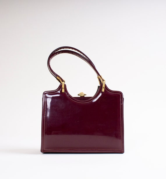 Vintage // 50s // 60s // Red // Patent Leather //