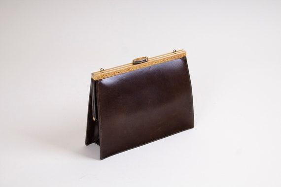 A Vintage / 50s / 60s / Mondaine / Brown / Leather