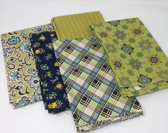 Blue Astonia by Denyse Schmidt Fabric Bundle #2