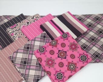 Pink Astonia from Denyse Schmidt Fabric Bundle #7