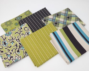 Blue Astonia by Denyse Schmidt Fabric Bundle #9
