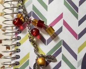 Golden Snitch Planner Charm, handbag/purse charm, zipper pull charm