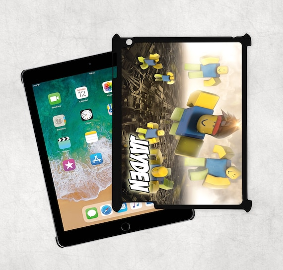 John Doe Messaged Me Roblox - Personalised Roblox Hard Plastic Ipad Case All Models 5