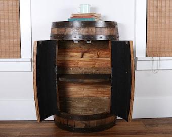 Half Barrel Cabinet