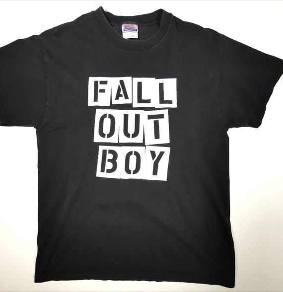 Fall Out Boy punk metal tour tee shirt
