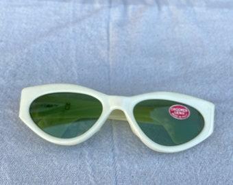 Qualität Oval Brillen Kurt Cobain Sonnenbrille Nirvana Kostüm Grunge Rot Weiß