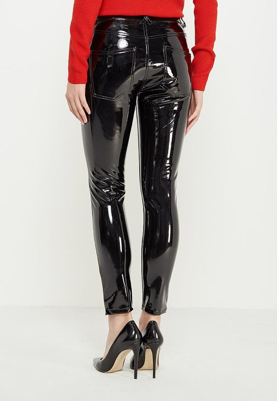 Pantalons Femmes Pvc NoirEtsy Vinyle Leggings Jeans Hommes 6bI7vYgyfm
