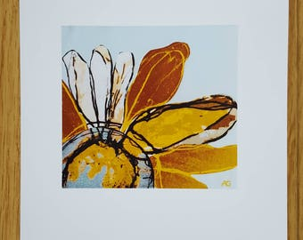Daisy - A4 print - flowers