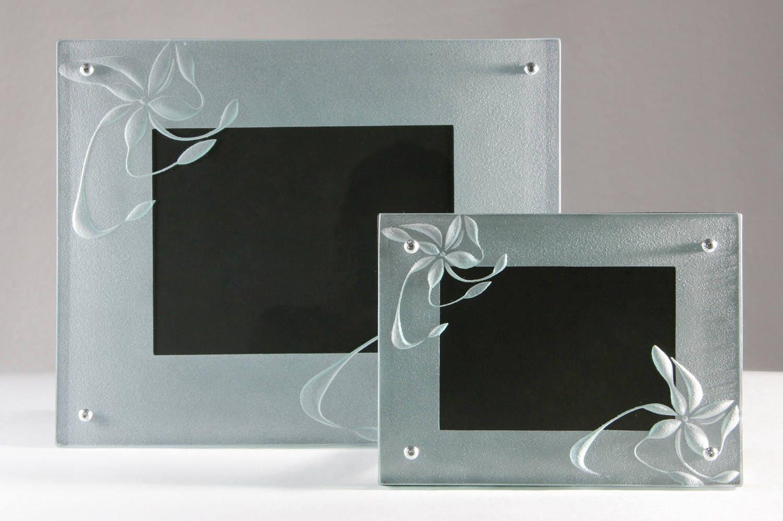 Portaretrato Marco de imagen Cuadro Porta retrato de cristal