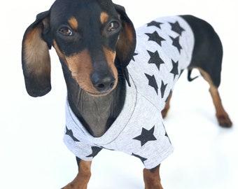 Dog T-Shirt || Dog Tee || Grey Dog T-Shirt || Dog Clothes || Trendy Dog Clothes || Small Dog Clothes || Dog Apparel | Summer Dog Clothes