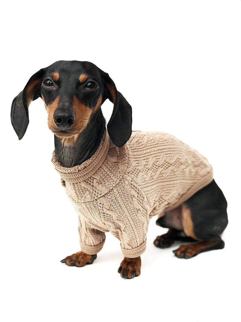 8f86c415e76f Dog Turtleneck Dog Sweater Dog Clothes Puppy Clothes | Etsy