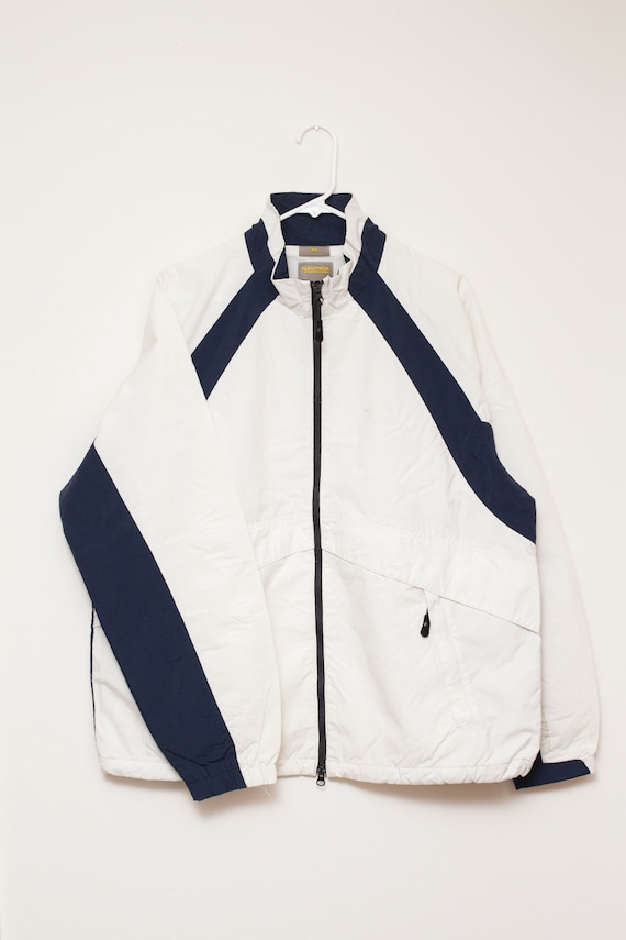 Nautica Competition Perforated Logo Jacket