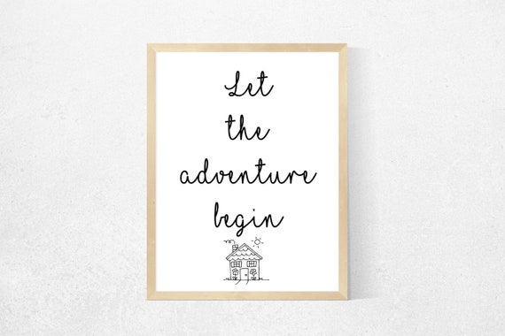 House Quotes - New House Print - First House - Couples Quotes - New Home  Quotes - New Home Poster - Our First Home - Leaving home GIft -