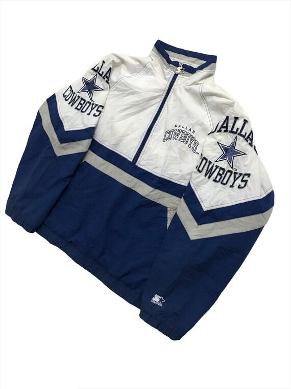Vintage Dallas Cowboys NFL Starter Parka Jacket Sw