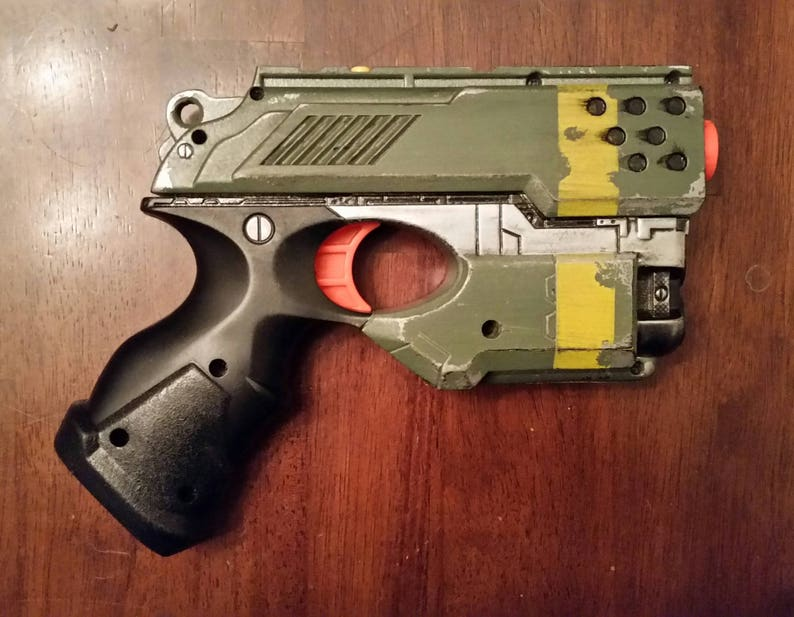 FREE SHIPPING - Custom Hand Painted Nerf Scout - Halo inspired - ADEQU8